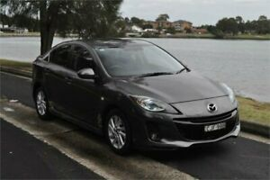 2012 Mazda 3 BL 11 Upgrade SP20 Skyactiv Luxury Grey 6 Speed Automatic Sedan Five Dock Canada Bay Area Preview