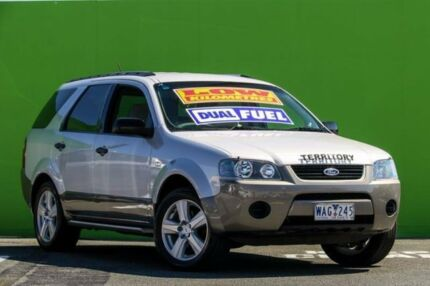 2007 Ford Territory SY TX AWD Silver 6 Speed Sports Automatic Wagon Ringwood East Maroondah Area Preview