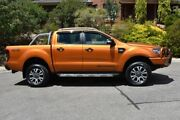 2016 Ford Ranger PX MkII Wildtrak Double Cab Orange 6 Speed Sports Automatic Utility St Marys Mitcham Area Preview
