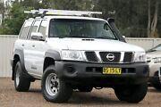 2012 Nissan Patrol Y61 GU 8 DX White 5 Speed Manual Wagon Tuggerah Wyong Area Preview