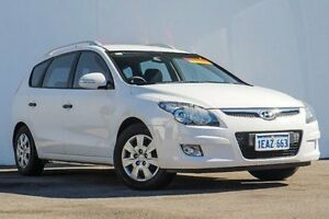 2012 Hyundai i30 FD MY11 SX cw Wagon White 4 Speed Automatic Wagon Bellevue Swan Area Preview