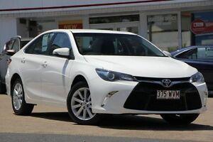 2015 Toyota Camry ASV50R Atara S Diamond White 6 Speed Sports Automatic Sedan Woolloongabba Brisbane South West Preview