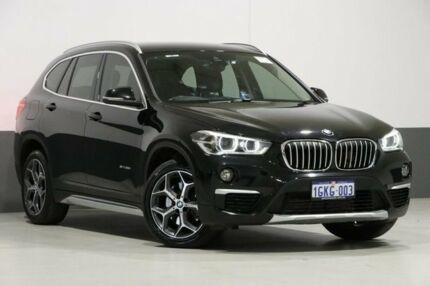 2016 BMW X1 F48 sDrive 20I Black 8 Speed Automatic Wagon Bentley Canning Area Preview