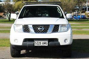 2011 Nissan Navara White Manual Utility Christies Beach Morphett Vale Area Preview