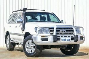 2006 Toyota Landcruiser HDJ100R GXL White 5 Speed Automatic Wagon Willetton Canning Area Preview