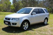 2009 Ford Territory SY Mkii TS RWD Limited Edition Silver 4 Speed Sports Automatic Wagon Ormeau Gold Coast North Preview