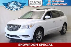 2017 Buick Enclave Leather AWD *Heated Seats-Sunroof-Quad Seatin