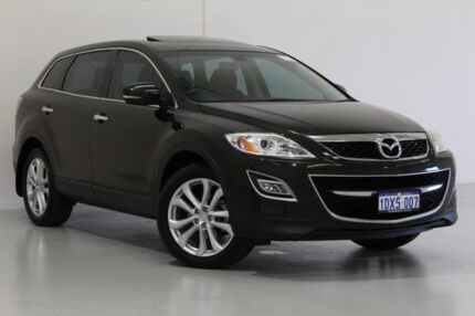 2011 Mazda CX-9 10 Upgrade Luxury Black 6 Speed Auto Activematic Wagon Bentley Canning Area Preview