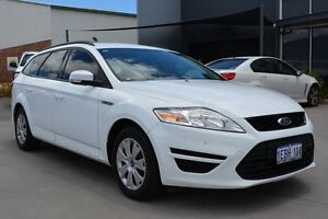 2012 Ford Mondeo MC LX Tdci Frozen White 6 Speed Direct Shift Wagon Welshpool Canning Area Preview