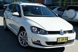 2015 Volkswagen Golf VII MY15 103TSI DSG Highline White 7 Speed Sports Automatic Dual Clutch Wagon Pearce Woden Valley Preview