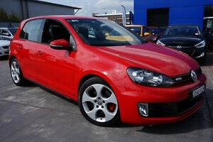 2010 Volkswagen Golf VI MY10 GTI DSG Red 6 Speed Sports Automatic Dual Clutch Hatchback Pearce Woden Valley Preview