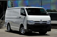 2012 Toyota Hiace TRH201R MY12 Upgrade LWB White 4 Speed Automatic Van Old Guildford Fairfield Area Preview