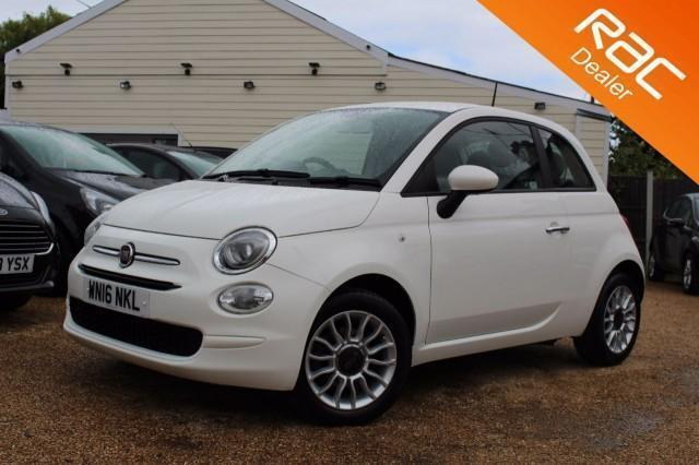 2016 16 FIAT 500 1.2 POP STAR 3D 69 BHP - USED CAR DEALER OF THE YEAR
