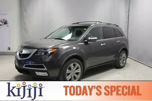 2012 Acura MDX AWD ELITE Navigation (GPS),  Heated Seats,  3rd R
