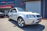 2006 Ford Territory SY Turbo AWD Ghia Silver 6 Speed Sports Automatic Wagon Lonsdale Morphett Vale Area Preview
