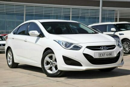 2014 Hyundai i40 VF2 Active Creamy White 6 Speed Sports Automatic Sedan Castle Hill The Hills District Preview