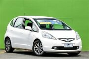 2010 Honda Jazz GE MY10 GLI Vibe White 5 Speed Automatic Hatchback Ringwood East Maroondah Area Preview