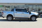 2016 Ford Ranger PX MkII Wildtrak Double Cab Silver 6 Speed Sports Automatic Utility Osborne Park Stirling Area Preview