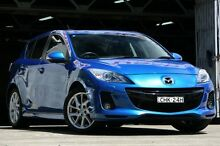 2012 Mazda 3 BL 11 Upgrade SP25 Blue 5 Speed Automatic Hatchback Mosman Mosman Area Preview