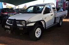2009 Mitsubishi Triton MN GLX White Manual Cab Chassis Minchinbury Blacktown Area Preview