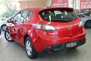 2010 Mazda 3 BL 10 Upgrade Neo Red 5 Speed Automatic Hatchback Roseville Ku-ring-gai Area Preview