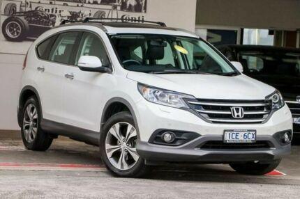 2014 Honda CR-V RM MY15 VTi-L 4WD White 5 Speed Sports Automatic Wagon