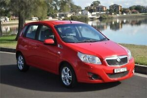 2010 Holden Barina TK MY10 Red 4 Speed Automatic Hatchback Five Dock Canada Bay Area Preview