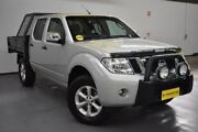 2012 Nissan Navara D40 S5 MY12 ST-X 550 Silver 7 Speed Sports Automatic Utility Brooklyn Brimbank Area Preview