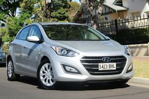 2015 Hyundai i30 GD3 Series II MY16 Active Silver 6 Speed Sports Automatic Hatchback Nailsworth Prospect Area Preview