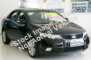 2009 Kia Cerato TD MY10 SLi Black 4 Speed Automatic Sedan Werribee Wyndham Area Preview