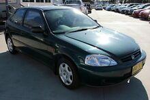 1999 Honda Civic EK CXi Green 5 Speed Manual Hatchback Maryville Newcastle Area Preview