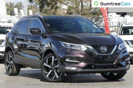 2018 Nissan Qashqai J11 MY18 TI Nightshade Continuous Variable Wagon Baulkham Hills The Hills District Preview