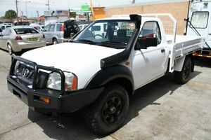 2005 Nissan Navara D22 MY2003 DX White 5 Speed Manual 2D CAB CHASSIS Barrack Heights Shellharbour Area Preview