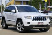 2012 Jeep Grand Cherokee WK MY2012 Limited White 5 Speed Sports Automatic Wagon East Toowoomba Toowoomba City Preview