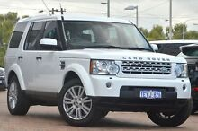 2012 Land Rover Discovery 4 Series 4 MY12 SDV6 CommandShift SE White 6 Speed Sports Automatic Wagon Osborne Park Stirling Area Preview