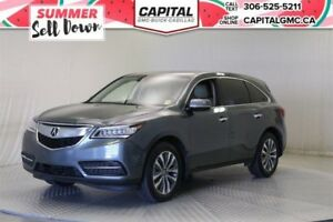 2016 Acura MDX Nav Pkg AWD*Sunroof*Leather*