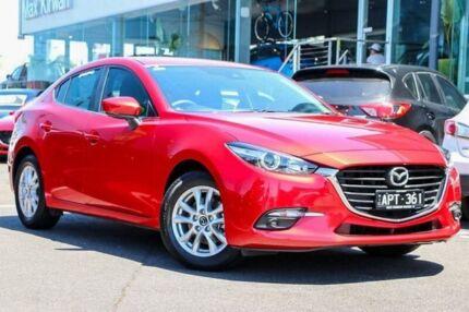 2017 Mazda 3 BN5278 Maxx SKYACTIV-Drive Red 6 Speed Sports Automatic Sedan Preston Darebin Area Preview