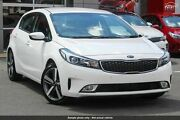 2017 Kia Cerato YD MY17 Sport White 6 Speed Sports Automatic Hatchback Burnie Area Preview