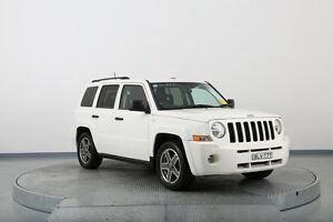2009 Jeep Patriot MK MY2009 Sport CVT Auto Stick White 6 Speed Constant Variable Wagon Old Guildford Fairfield Area Preview