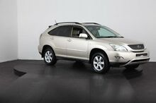 2004 Lexus RX330 MCU38R Sports Gold 5 Speed Sequential Auto Wagon Mulgrave Hawkesbury Area Preview