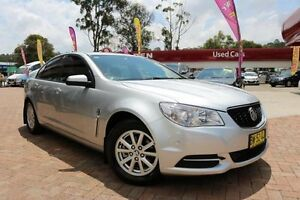 2013 Holden Commodore VF Evoke Silver 6 Speed Automatic Sedan Campbelltown Campbelltown Area Preview