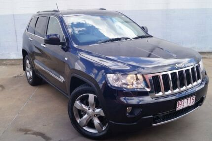 2011 Jeep Grand Cherokee WK MY2011 Limited Blue 5 Speed Sports Automatic Wagon