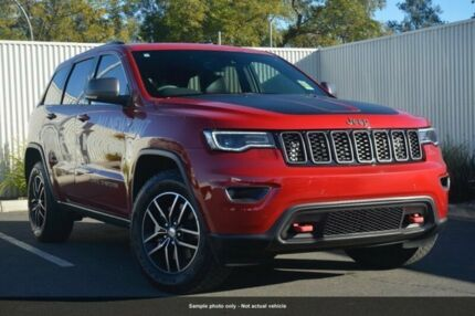 2017 Jeep Grand Cherokee WK MY17 Trailhawk Red 8 Speed Sports Automatic Wagon