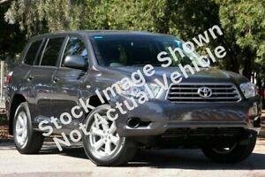 2010 Toyota Kluger GSU40R KX-R (FWD) 5 Seat Graphite 5 Speed Automatic Wagon
