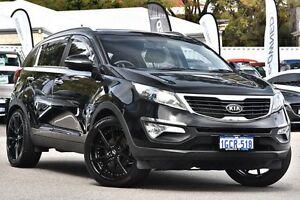 2012 Kia Sportage SL MY12 Platinum Black 6 Speed Sports Automatic Wagon Maylands Bayswater Area Preview