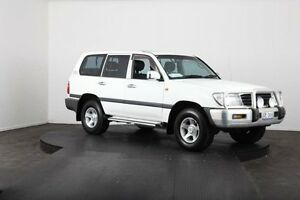 2000 Toyota Landcruiser FZJ105R GXL (4x4) White 4 Speed Automatic 4x4 Wagon McGraths Hill Hawkesbury Area Preview