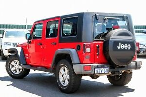 2007 Jeep Wrangler JK Unlimited Sport Red 6 Speed Manual Softtop Osborne Park Stirling Area Preview