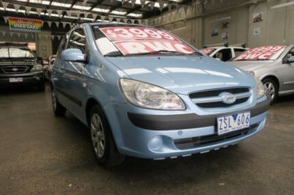 2008 Hyundai Getz TB Upgrade S 5 Speed Manual Hatchback Mordialloc Kingston Area Preview