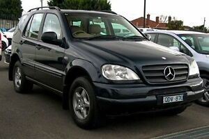 2000 Mercedes-Benz ML320 W163 MY2000 Luxury Green Black 5 Speed Sports Automatic Wagon Preston Darebin Area Preview