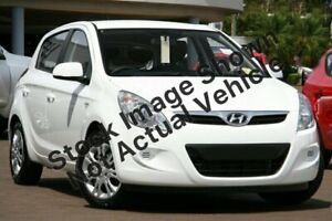 2011 Hyundai i20 PB MY11 Active White 5 Speed Manual Hatchback Morley Bayswater Area Preview